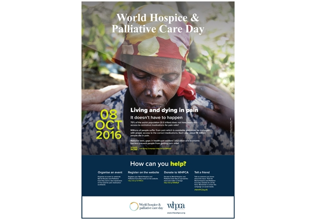 World Hospice and Palliative Care Day posters and materials published