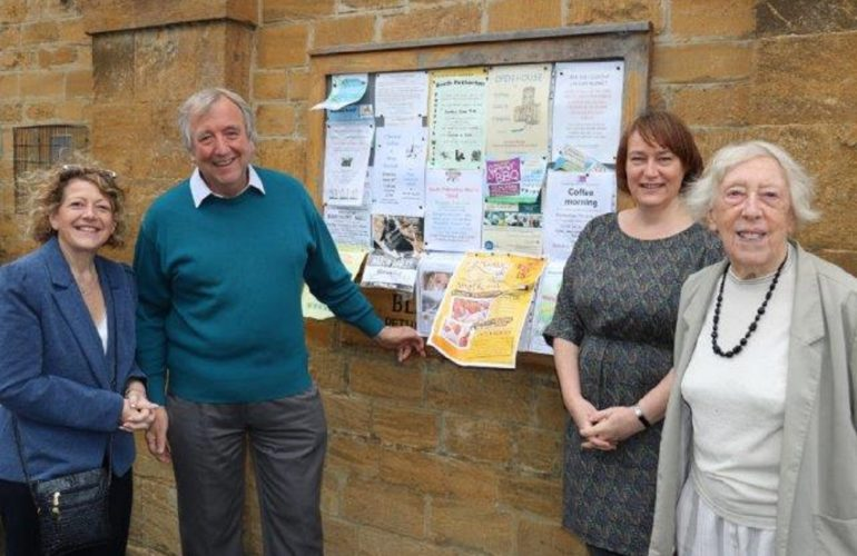 Community joins forces  with hospice to address needs of population