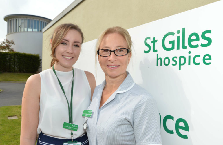 Pilot project at St Giles Hospice will see nurses work across community and inpatient settings