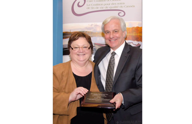 Hospice Palliative Care Champion Russell Williams Given Award