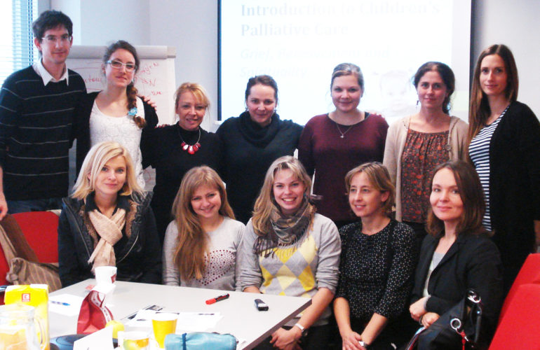 Practitioners from the Czech Republic trained in children's palliative care