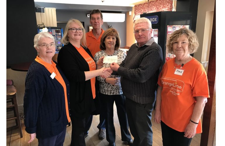 Cancer survivors group receives donation to continue services