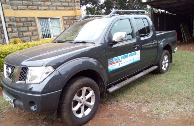 New car boosts Embu hospice initiative