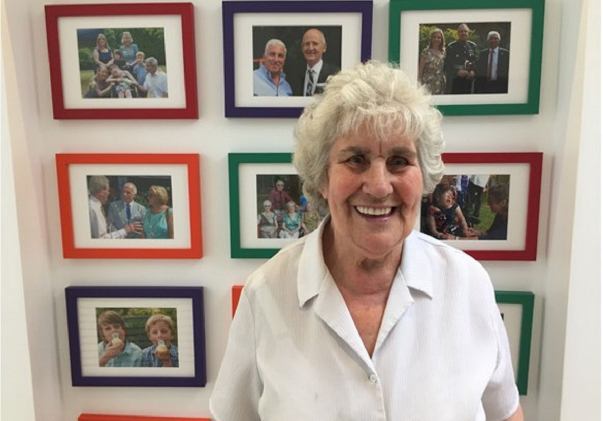 """Why I volunteer: """"because the hospice is such a lovely place"""""""
