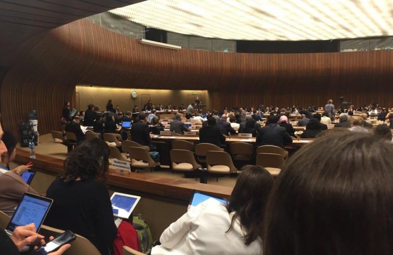 WHPCA and allies speak up for palliative care and pain relief at the 69th World Health Assembly