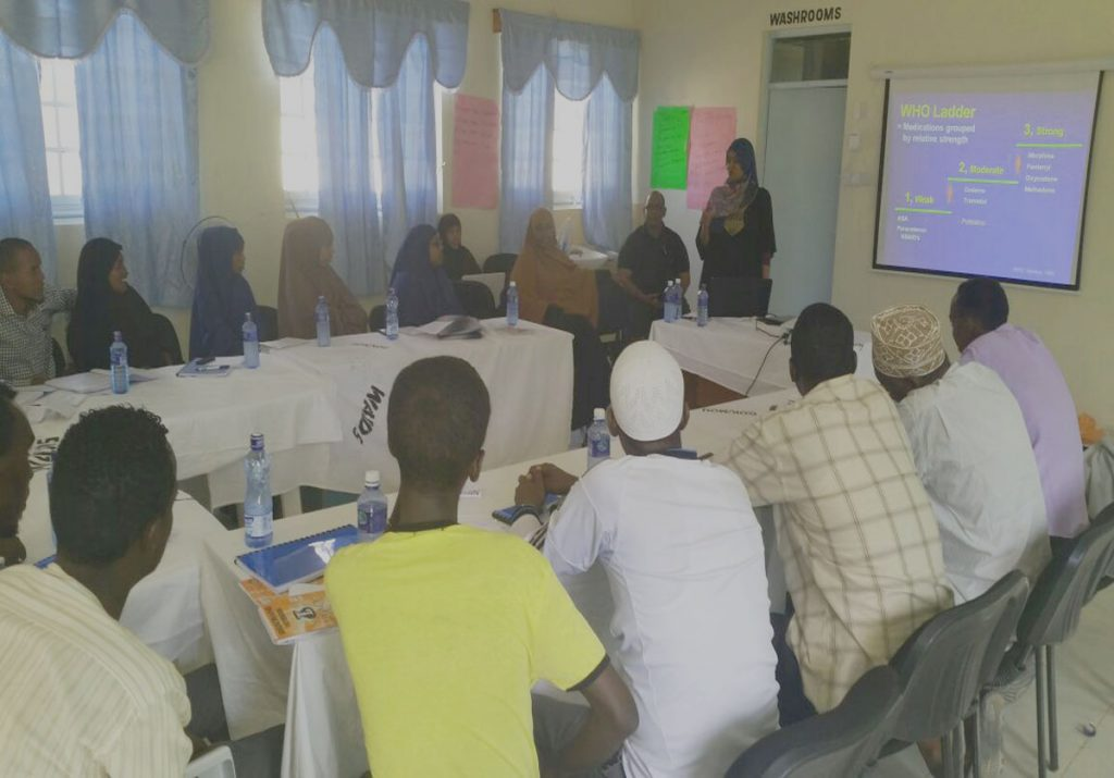 Garissa Palliative Care training