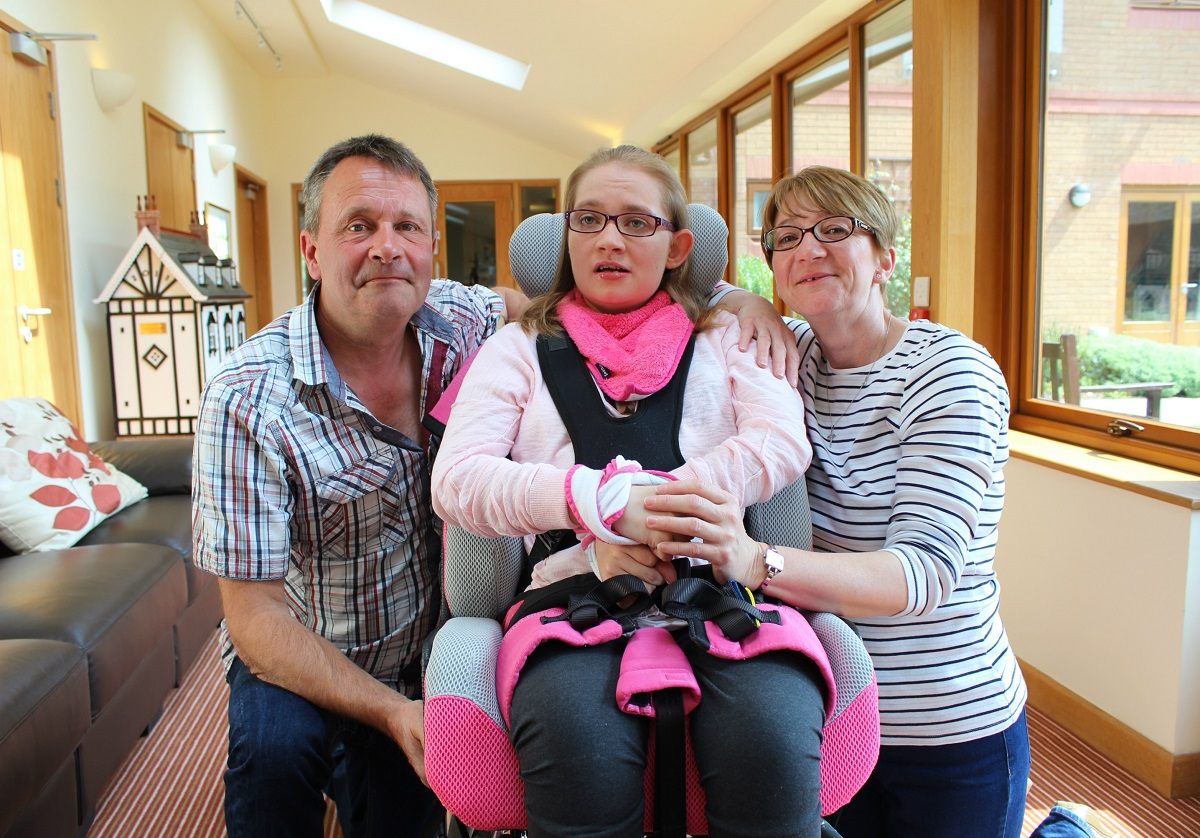 Hospice helps parents make the most of family life