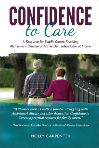 New book offering tips for caring for a loved one with dementia