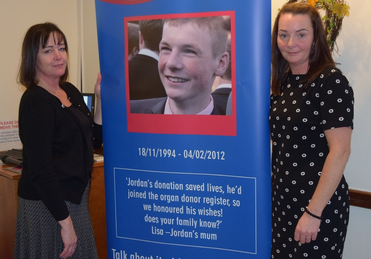 Mother raises awareness about organ and tissue donation at hospice conference
