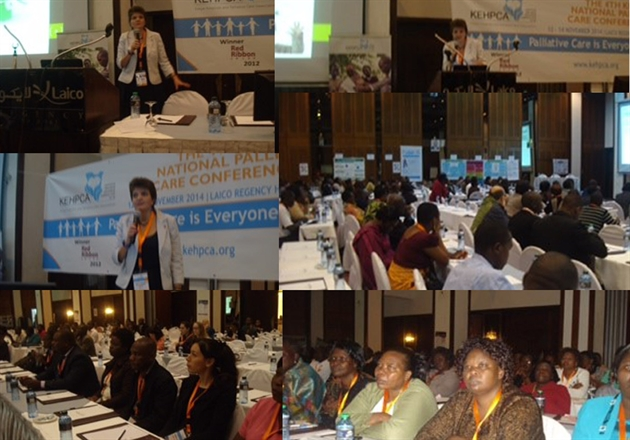 Children's palliative care workshop draws a large crowd at Kenyan conference