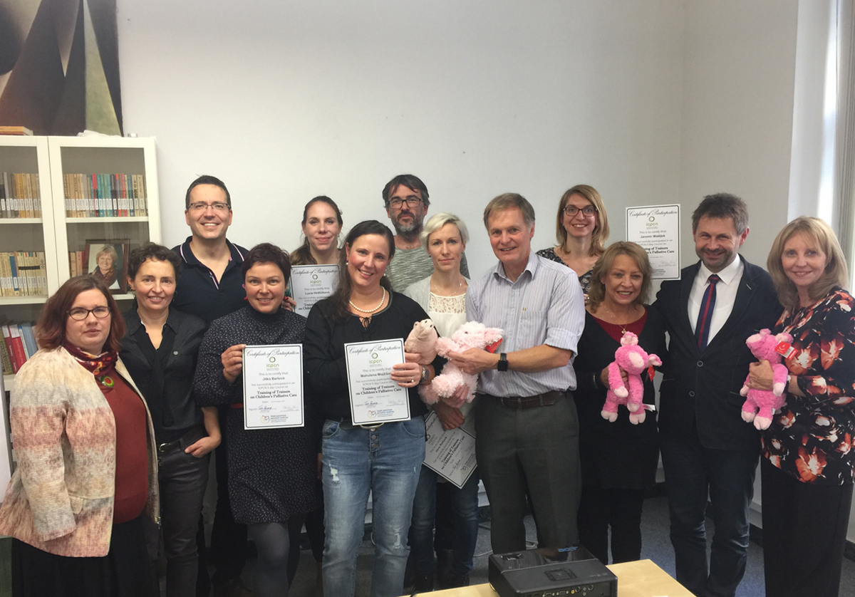 ICPCN Training of Trainers course held in Czech Republic
