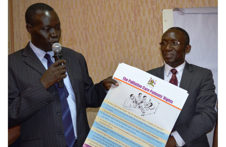 Development of legal and human rights guidelines for palliative care in Uganda