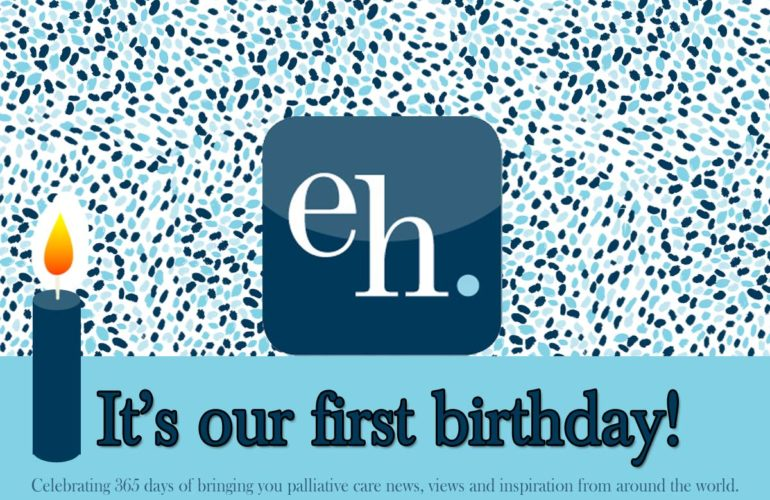 ehospice celebrates a year of publishing