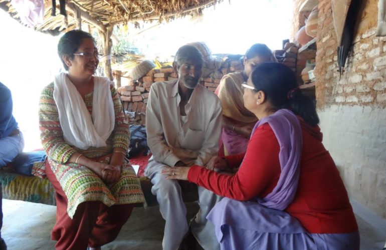 Innovative model for palliative care emerging in rural North India