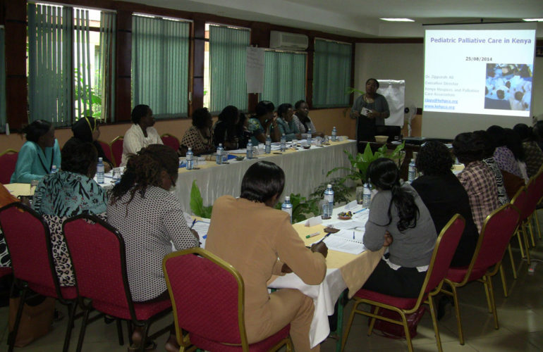 More Health Care Workers in Kenya trained in children's palliative care