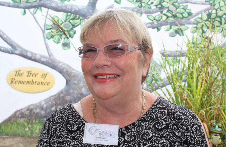 Meet the CEO of South Coast Hospice: Diane Van Dyk