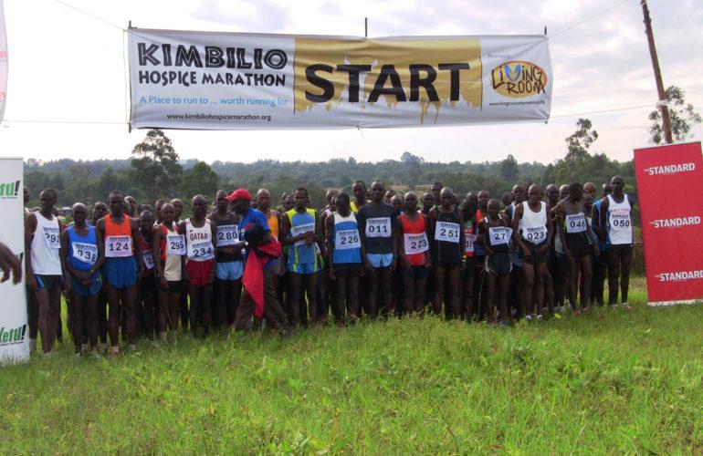 Spirit of hospice support shown at Kimbilio Marathon