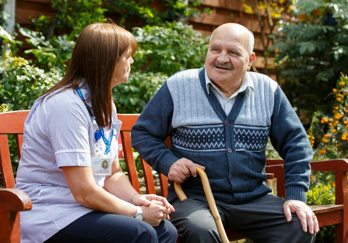 Earl Mountbatten Hospice focuses on heart failure end of life care