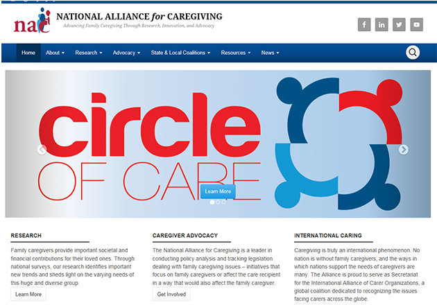 New President/CEO at National Alliance for Caregiving