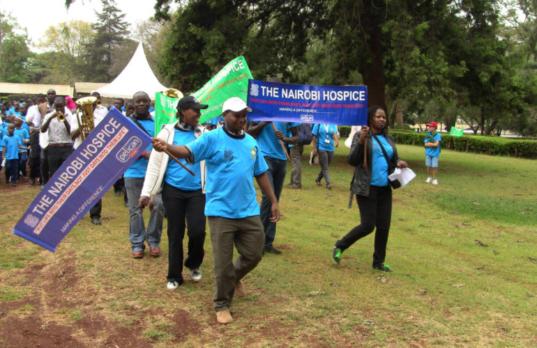 Nairobi Hospice holds its Annual Charity Walk