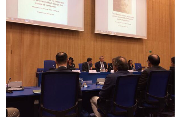 Palliative care advocacy at CND Vienna