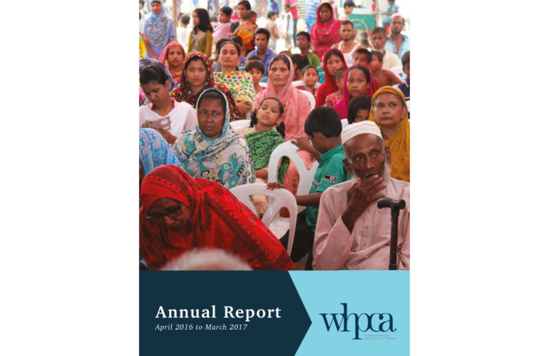WHPCA Annual Report shows impact, policy influence and focus on care for all