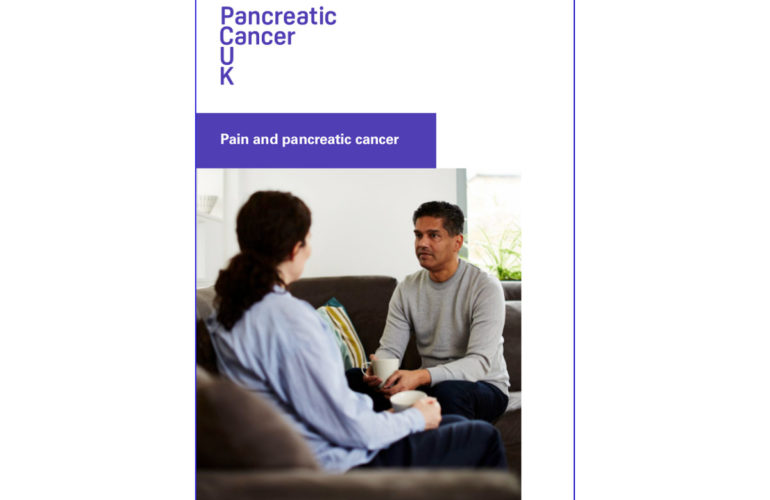New booklet on managing pain for people with pancreatic  cancer