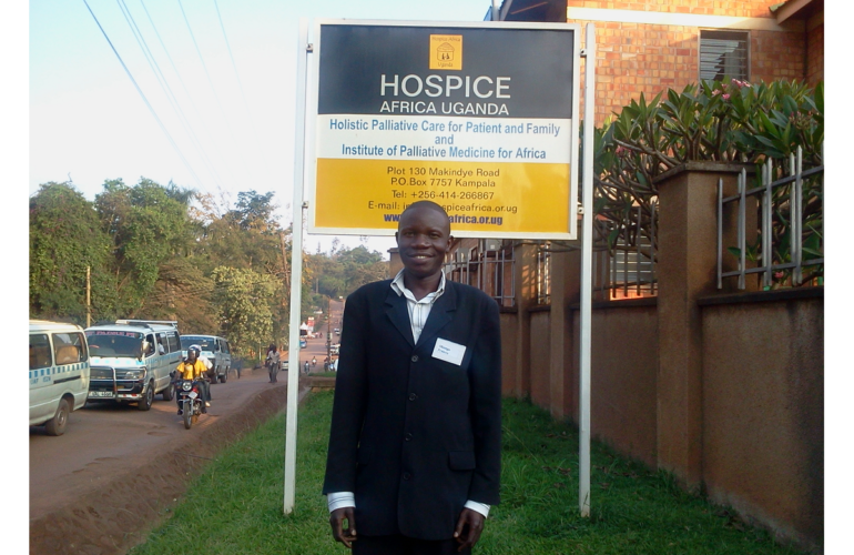 Interview with Francis Okongo, IHPCA graduate and candidate for BSc in Palliative Care