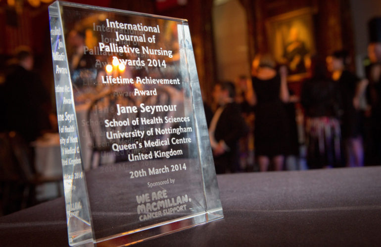 International palliative care workers honoured at IJPN awards