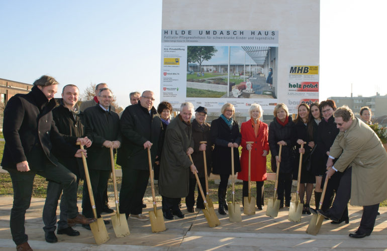 Groundbreaking ceremony for Austria's first ever children's hospice