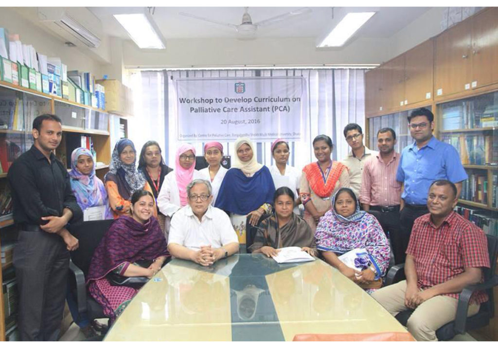 New curriculum to increase number of skilled palliative care assistants in Bangladesh