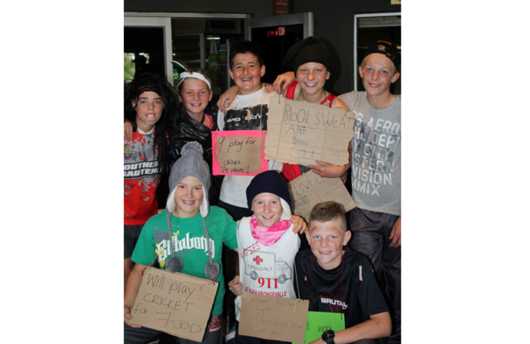 Hobo's in action for Stepping Stone Hospice