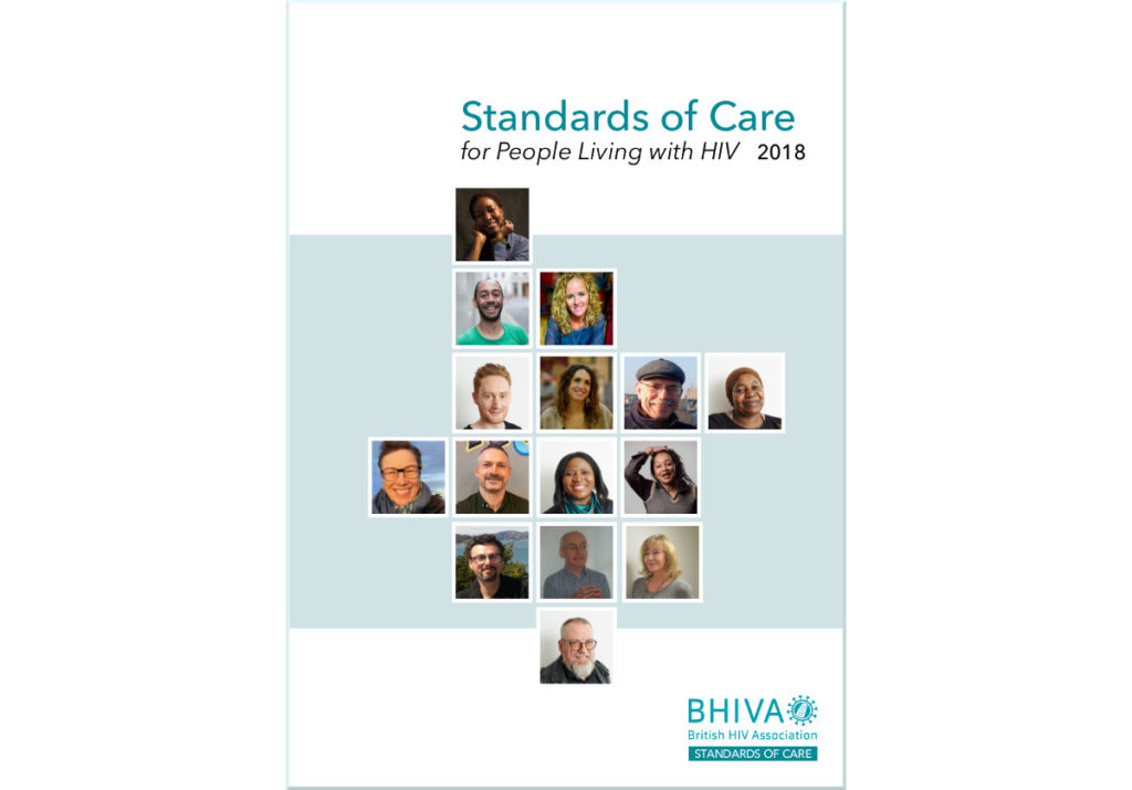 Palliative care included in new Standards of Care from British HIV Association (BHIVA)