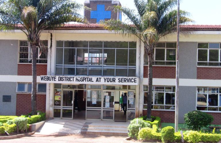 Webuye District Hospital sets up room for palliative care