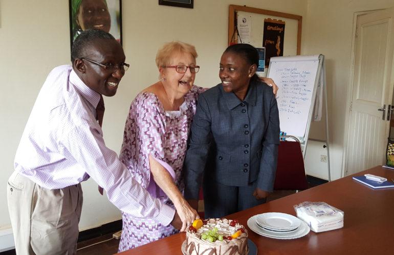 Palliative care pioneer turns 80