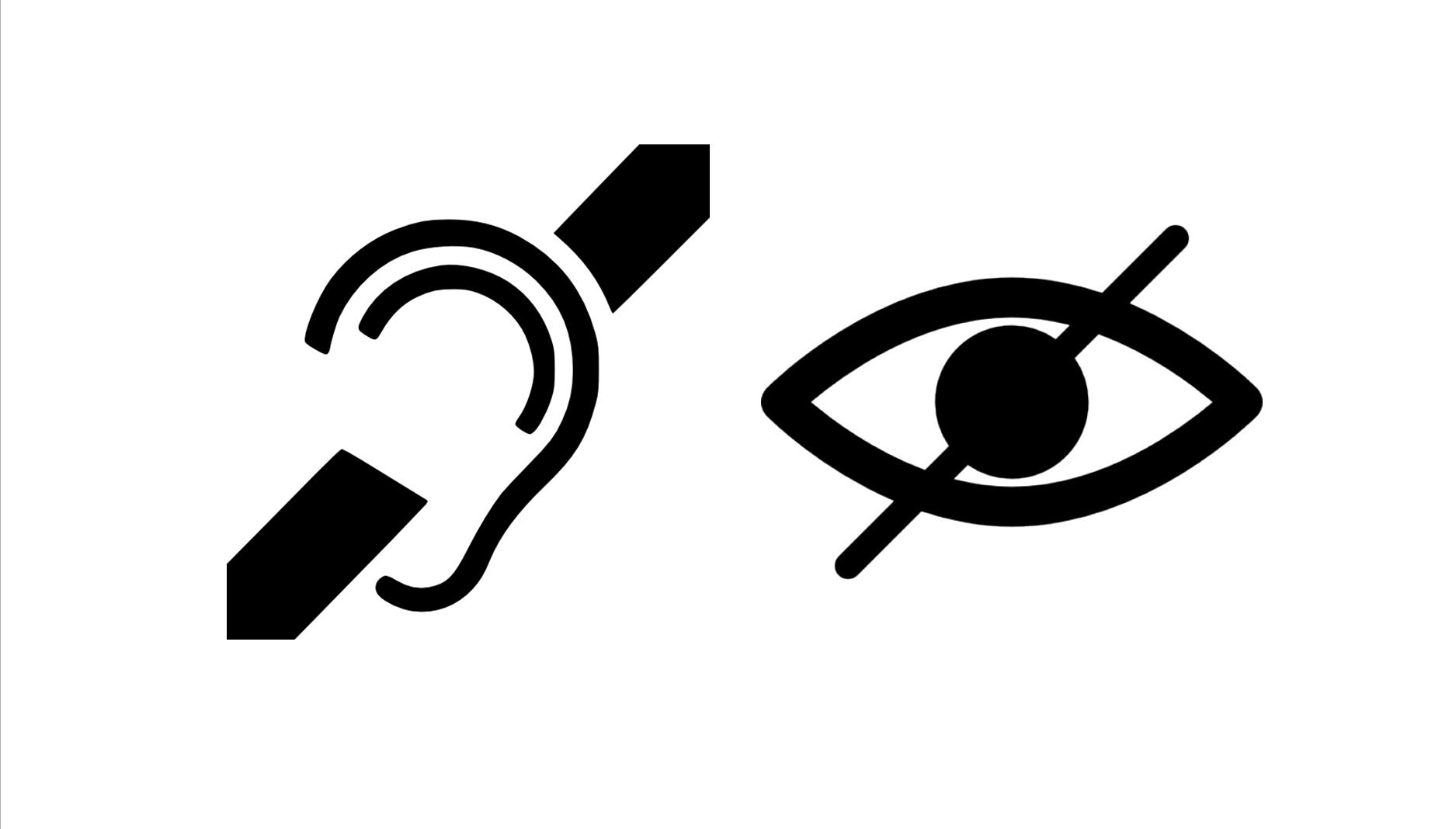 #Disabilityawareness: Deafblind