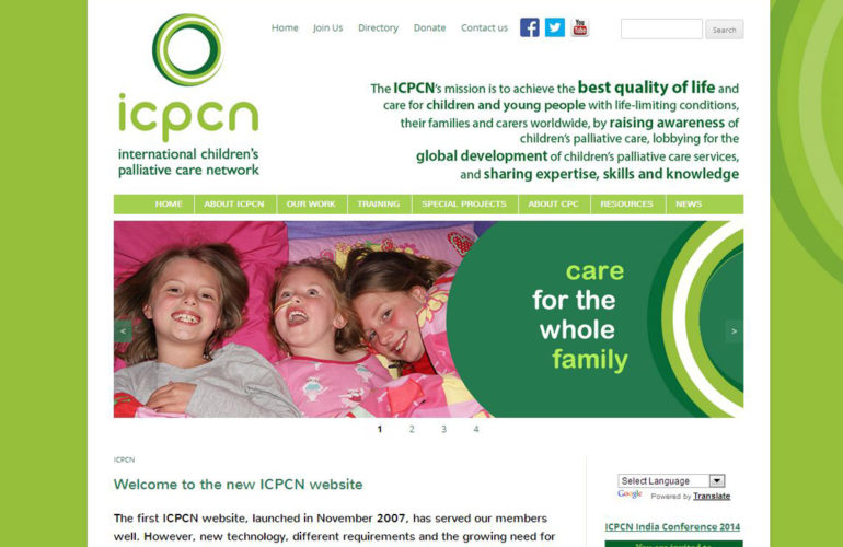 Launch of the new International Children's Palliative Care Network (ICPCN) website