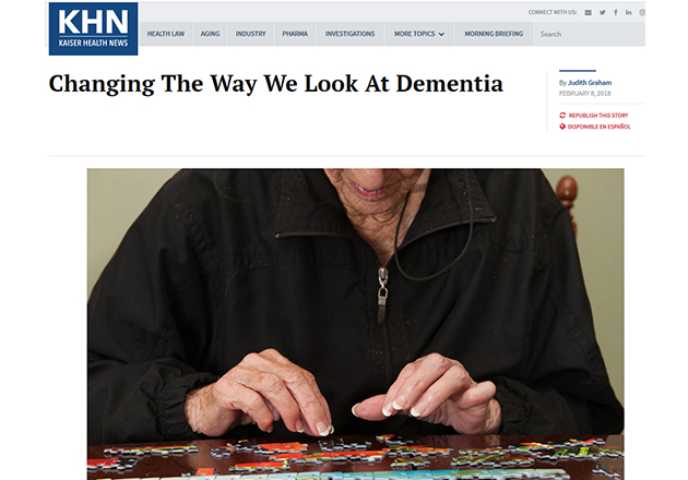Changing The Way We Look At Dementia