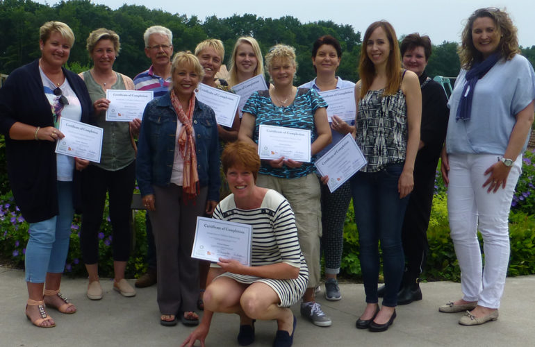 First students complete Dutch e-learning course on children's palliative care