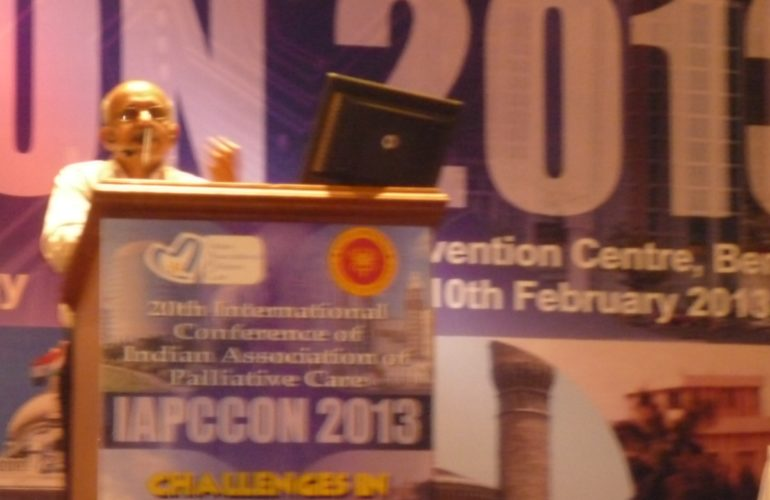 IAPCCON 2013 concluded with the participation of more than 500 delegates