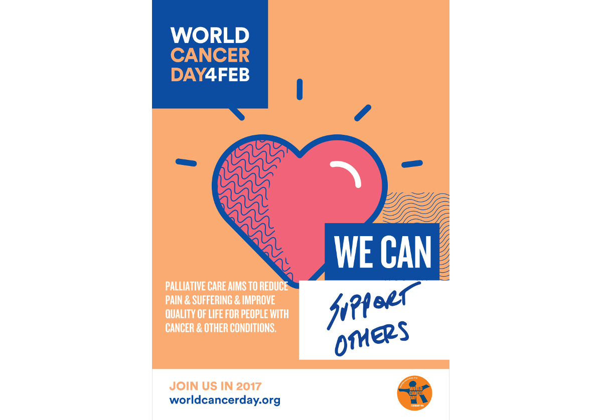 Palliative care and cancer care on World Cancer Day
