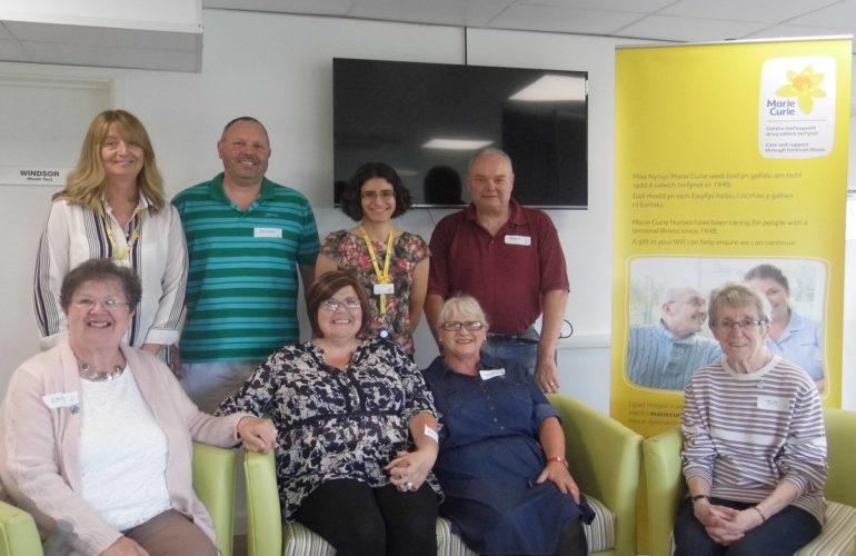 Group visits Marie Curie hospice to help implement dementia-friendly plans