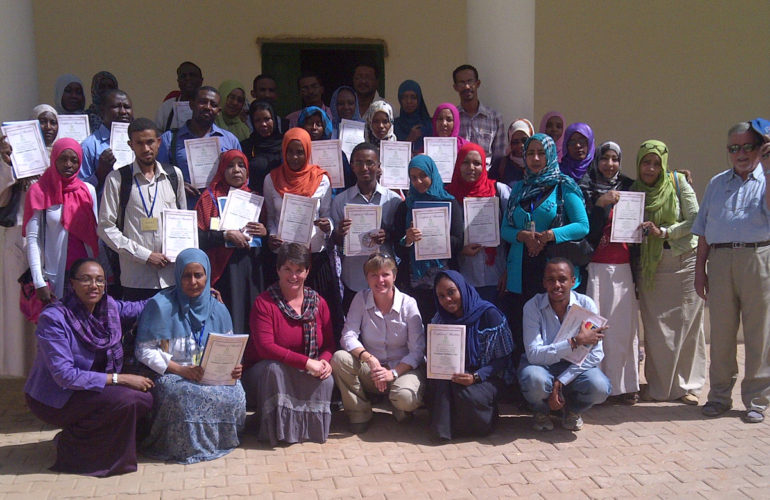 Training in PPC provided by ICPCN for 37 Health Professionals in the Sudan