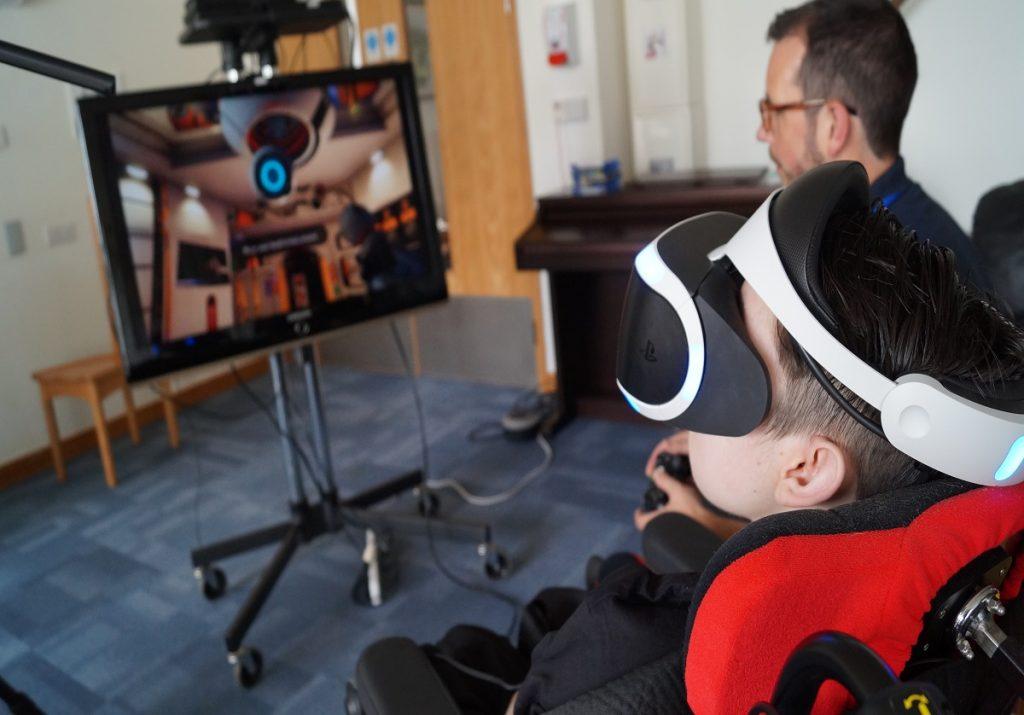 Lifelites charity takes virtual reality to children's hospices around the UK