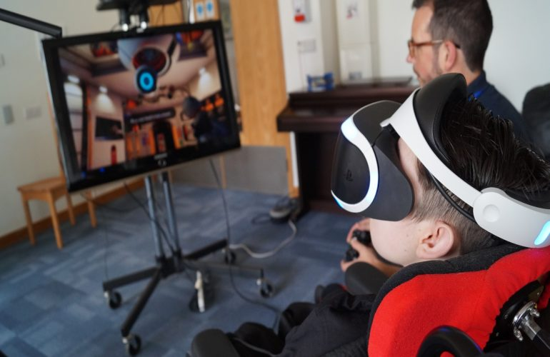 Lifelites charity takes virtual reality to children's hospices around the UK