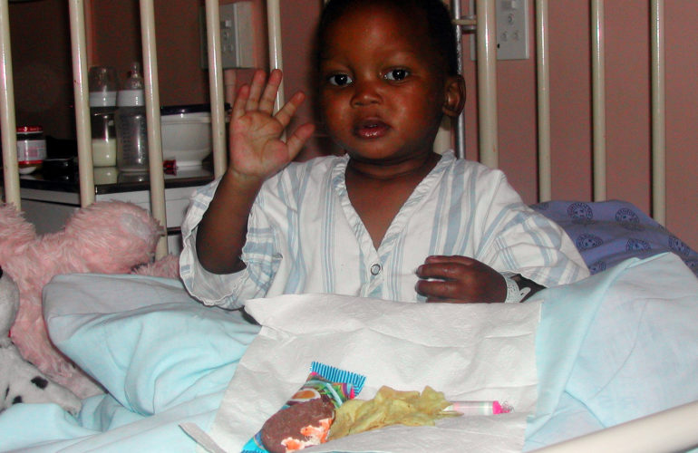 Myth busting in children's palliative care – Stembile's story