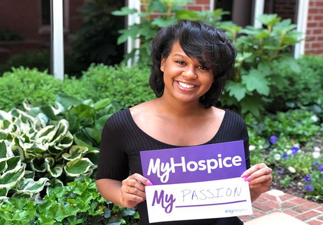 What is the #MyHospice Story Bank?