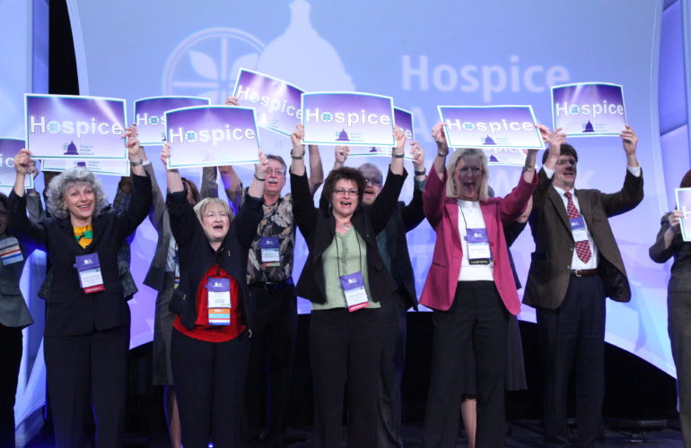 Hospice leaders learn about advocacy priorities for 2014