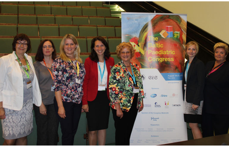 Children's palliative care given prominence at Baltic Paediatric Congress