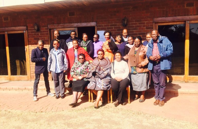 Development of national children's palliative care guidelines and training curriculum for Lesotho